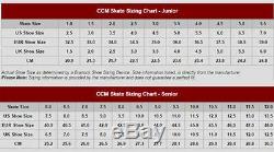 Nouveau Dans La Boîte! 2020 CCM Ribcor 74k Patins De Hockey Sur Glace Senior Taille 10.5d Vente
