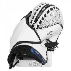 Nouveau Gant De Receveur Du Gardien De But De Hockey Sur Glace Vaughn Lt88 Venus Tout Blanc, Objectif Senior