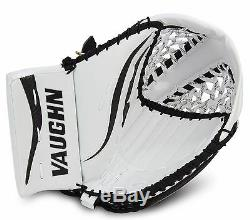 Nouveau Gant De Receveur Pour Gardien De But De Hockey Sur Glace Vaughn Lt88 Senior Blanc Noir Sr. Reg
