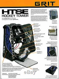 Nouveau Grit Htse Sac Stand Tour De Hockey Sur Glace 36 Équipement Haut Jaune Boston