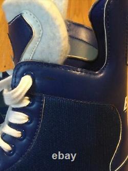 Nouveau Labatt Blue Patins De Hockey Sur Glace Taille 10 1/2 Ligue De Bière Lames Promo