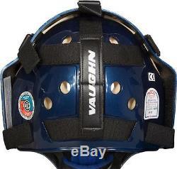 Nouveau Masque De Gardien De But Vaughn 9500 Sb Sr Blanc Masque De Gardien De But De Hockey Sur Glace Senior