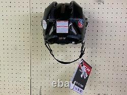 Nouveau Noir CCM Fitlite 3ds Joueur Senior Pro Hockey Sur Glace Casque Adulte Hommes Grand L