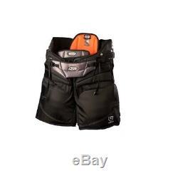 Nouveau Pantalon De Gardien De But De Hockey Sur Glace Dr Hpx9 X9 Noir Senior XL Sr. Pantalon De Gardien Extra Large