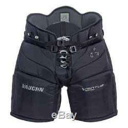 Nouveau Pantalon De Gardien Vaughn Ventus Slr Pro Senior Moyen 34 Noir Hockey Sur Glace Sr