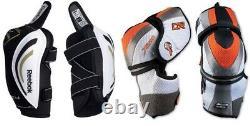 Nouveau Pantalon De Hockey Sur Glace Senior Gants Tibia Épaulettes Coude Sr Set Kit D'équipement