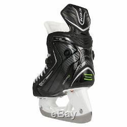 Nouveau! Patins De Hockey Sur Glace CCM Ribcor 44k Noir Pump Le Taille 6d