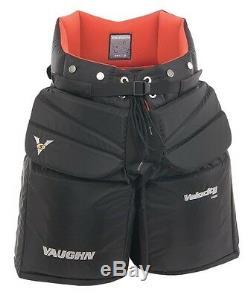 Nouveau Vaughn 7460 Pantalon De Gardien De But De Hockey Sur Glace Senior Senior Taille 38 Grand Noir