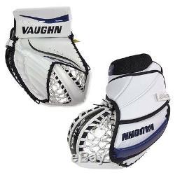 Nouveau Vaughn Lt88 Senior Gant De Gardien De But Pour Gardien De But De Hockey Sur Glace Blanc Marine Noir Sr