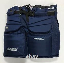 Nouveau Vaughn V7 Xf Pro Sr Sr Pantales De Gardien De But Senior Senior 30 Butte De Hockey Sur Glace Bleu