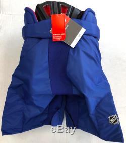 Nouveaux CCM Hp45x Oilers D'edmonton Pro Stock / Retour Hockey Sur Glace Pantalon Senior XL + 1 Bleu