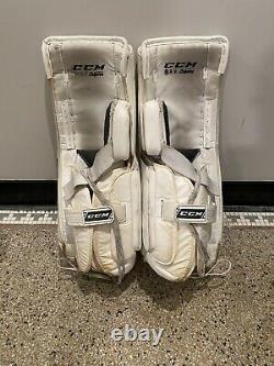 Nouveaux Coussinets De Jambe De Gardien De But Senior De Hockey Sur Glace CCM Premier Pro 33+1