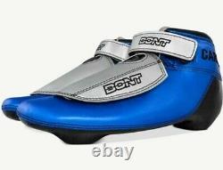 Nouvelle Piste Courte Patriot-c Boa V2 Bottes De Patins À Glace Taille 9.5 Hommes Bleu Bont Carbon