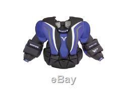 Nouvelle Protection De La Poitrine Et Des Bras De Gardien De But De Hockey Sur Glace Vaughn V6 1000 Pro Senior XL Sr