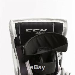 Nouvelles Jambières De Gardien De But Senior CCM Extreme Flex E3.9 33 + 2 Sr Hockey Sur Glace Detroit Red