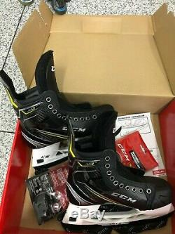 Nouvelles Patins De Hockey Sur Glace As1 Super Tacks As1 Taille 6.5 D Senior
