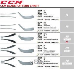 Paquet De 2 Bâtons De Hockey Sur Glace En Composite CCM Rbz 240 Grip Senior Flex