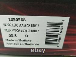 Patins À Glace Bauer Vapor X500 Us Size 8.0 Inutilisés