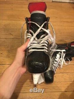 Patins Bauer 1x Hockey Taille 7 7/8 (8d) Pro Stock Nouvel Acier Senior