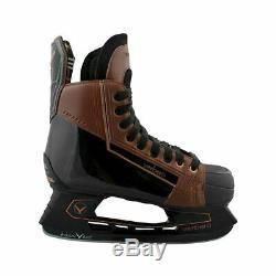 Patins De Hockey Sur Glace Seniors De Verbero Cypress (brun Vintage)