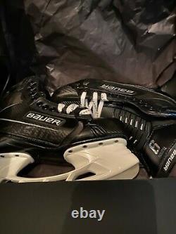 Personnalisé Bauer Supreme Ultrasonic Senior Patins De Hockey Sur Glace 9 Fit 2 Gunmetal