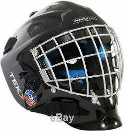 Powertek V3.0 Tek Hockey Sur Glace Gardien De But Casque Avec Masque Cage, Approuvé Csa Principal
