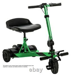 Pride Iride Compact Portable Scooter De Mobilité De Voyage Électrique À 3 Roues 48lbs