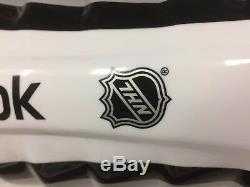 Protège-tibias LNH Neufs Reebok 19k Pro Stock Avec 16 Patins De Hockey Sur Glace Seniors, Taille Sz