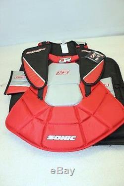 Protège-torse Et Protège-bras De Gardien De But De Hockey Sur Glace Dr Sonic X3 Senior Série X9 (taille S) Nouveau 2