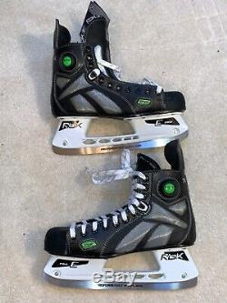 Rbk 7k Pompe Hockey Sur Glace Patinage Taille Principale 11.5 D