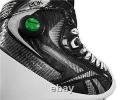 Reebok 20k Pump Gardien Patins Taille Senior, Hockey Sur Glace