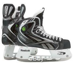 Reebok Pump Principal 18k Hockey Sur Glace Sr Taille 11d Skates 12,5 Eur 46 Ship Fast