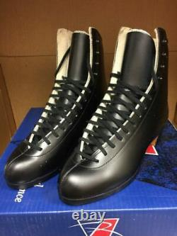 Riedell Ice/roller Skates 375n Gold Star Retro Ancienne Version Mens Noir Taille 5