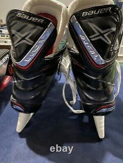Senior New In Box Bauer Vapor 1x 9.5d Patins De Hockey Sur Glace Ls4 Steel Nice