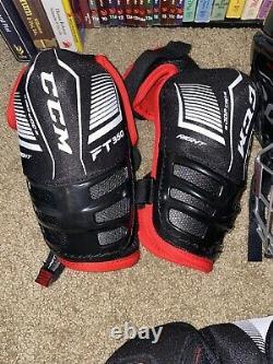 Senior Sr Ice Hockey Protective Gear Kit Set Adult Equipment Package Flambant Neuf