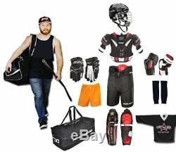 Set De Hockey Sur Glace Bauer S18 10 Pièces Adulte Senior