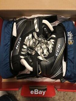 Tout Neuf! Punaises Senior CCM 9060 Hockey Sur Glace Patins Size6 Widthd Shoe Size 9-10