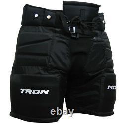 Tron Mega Goalie Hockey Sur Glace Et Roller Hockey Leg Pants Senior Small