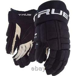 True Xcore 9 Pro Ice Hockey Gloves Size Senior, Pro Inline Hockey True Gloves