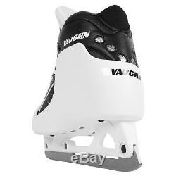 Vaughn Gx1 Gardien Pro Patins De Hockey Taille Haute 6 Noir Les Nouveaux Hommes De Skate De But De La Glace