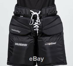 Vaughn V Elite Xr Pro Carbon Pantalon De Gardien Senior XL 42 Sr Hockey Sur Glace Noir Nouveau