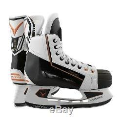 Verbero Cypress Principal De Hockey Sur Glace Patins Blanc Nouveau